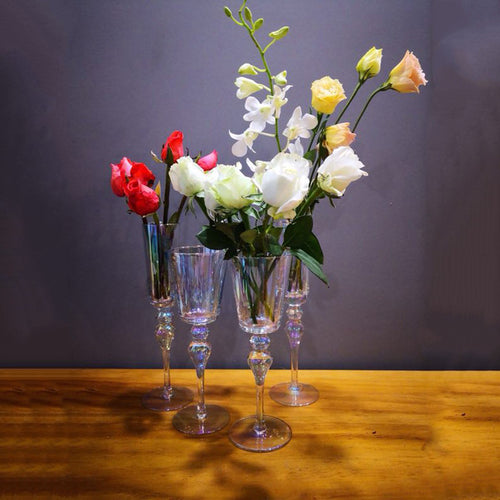 Romantic Decor Iridescent Goblet - Booth79