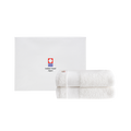 2-Pack 100% Cotton Extra Soft White Hand Towel Set - Booth79