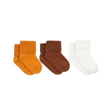 Baby Boys and Girls Toddler Non-Skid Cotton Socks 3-Pack - Booth79