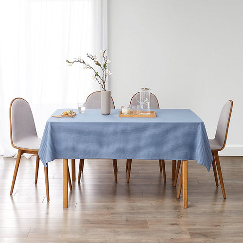 100% Cotton Rectangular Table Cloth Waterproof Tablecloth - Booth79