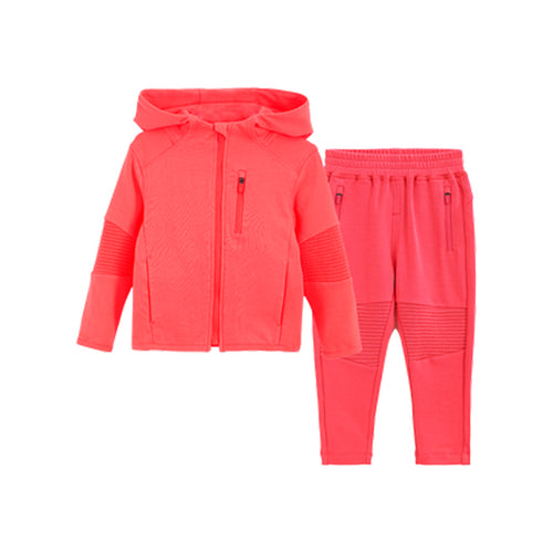 Vibrant Stitching Children's Sports Suit - Booth79