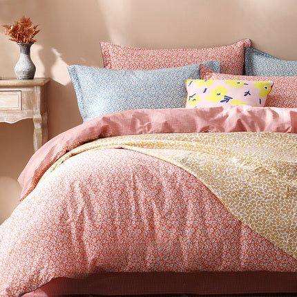 Queen Floral Duvet Cover Set Extra Soft Bedding - Booth79