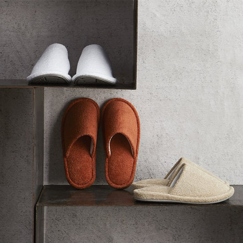Men and Women 100% Cotton Terry Extra Soft Home Slippers - Booth79