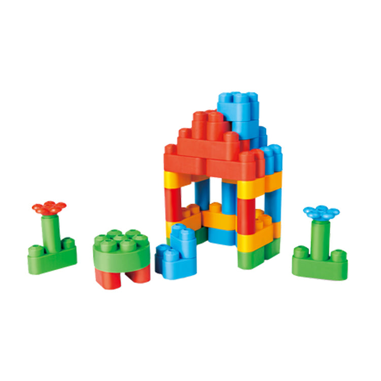 Toddler Boys and Girls Building Blocks Rattle 9-Piece - Booth79