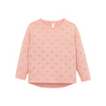 Long Sleeve Printed Knit T-shirt for Little Girl - Booth79