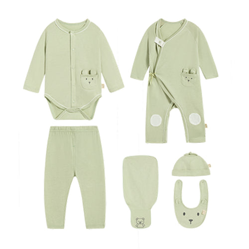 Newborn Cotton Unicorn 6-Piece Set - Booth79