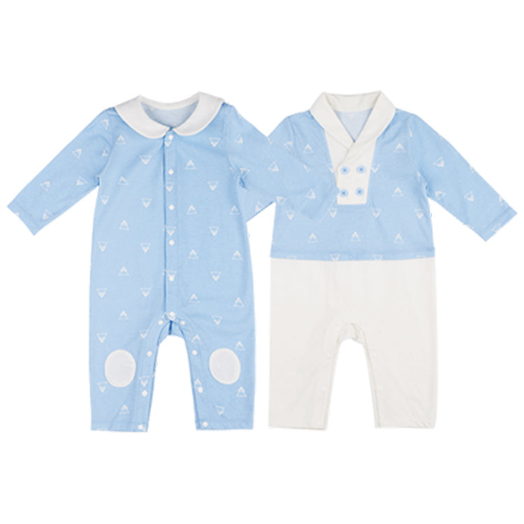 Newborn Cotton Cozy One-Piece 2-In-1 Pack - Booth79