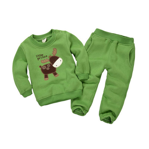 Kids Sport Fleece Outfits Set, Age 1-5 - Booth79
