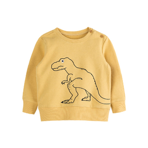Little Dinosaur Embroidered Children's Turtleneck Sweater - Booth79