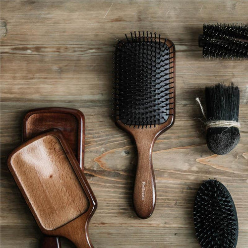 Hair Brush Oval Paddle Hair Brush with Nylon Pins - Booth79