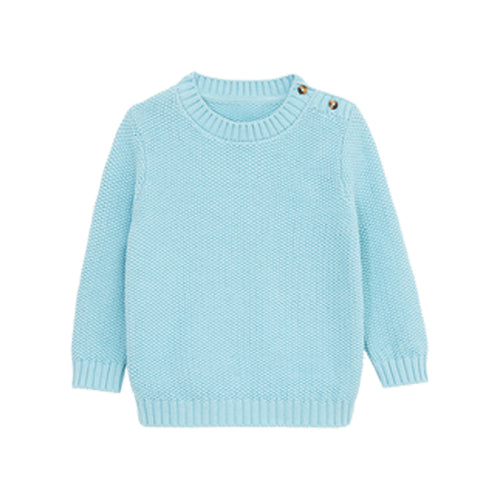 Skin-friendly Soft Wool Children's Pullover Sweater - Booth79