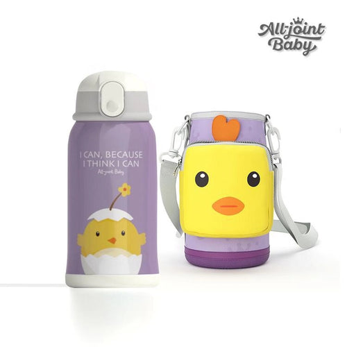 Kids 550 ML Anti-Drop Straw Insulated Water Cup - Booth79
