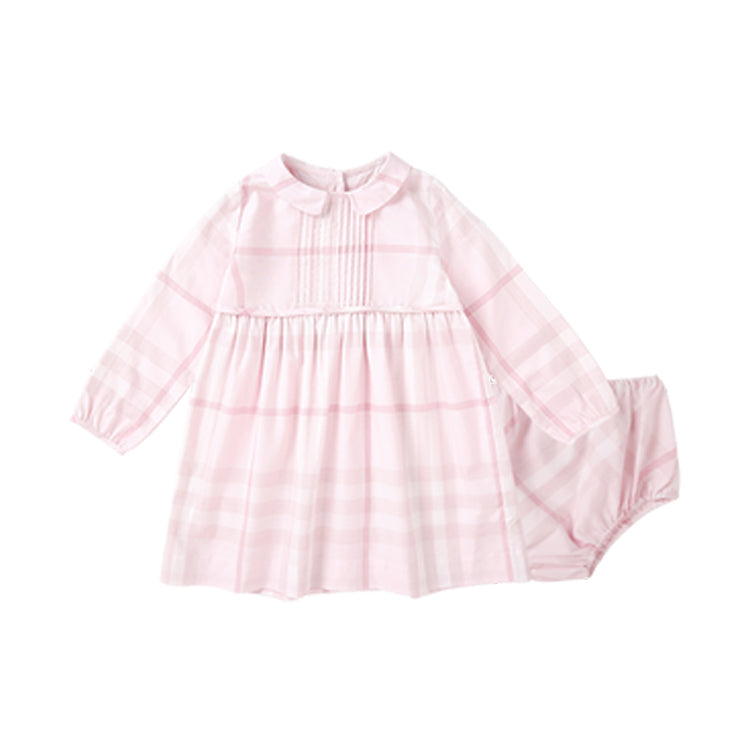 Baby and Toddler Girls Plaid Cotton Dress - Booth79