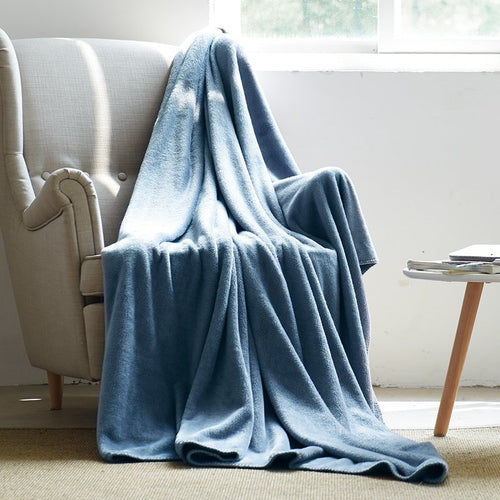 Extra Soft Brushed Polyester Blanket for Home or Travel - Booth79