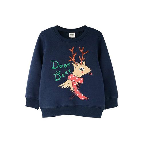Kids Fashion Round Neck Sweatshirt - Booth79