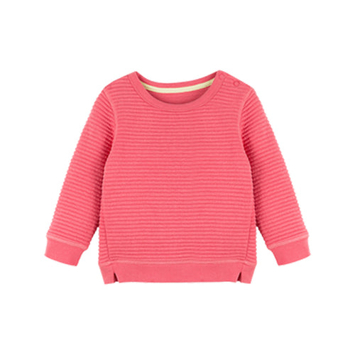 Girls Pure Color Pullover Sweater - Booth79