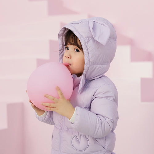 Girls Little Pig Shaped Detachable Down Jacket - Booth79