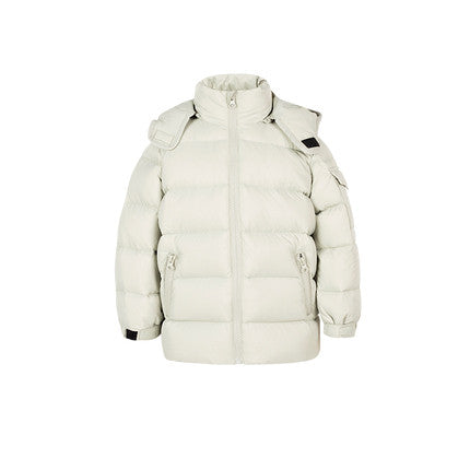 Kid Warm Wind-resistant Hooded Down Jacket - Booth79