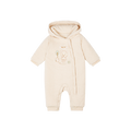 Newborn Bear Hooded Cozy Jumpsuit - Booth79
