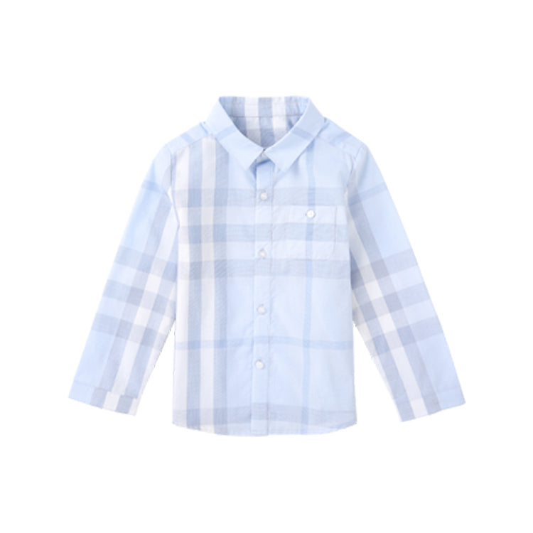Baby and Toddler Boys Plaid Cotton Shirt - Booth79