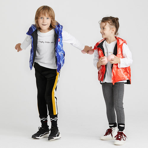 Kids Camouflage Down Vest - Booth79
