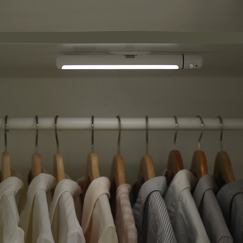 Motion Activated Closet Light Rechargeable and Rotatable LED Light - Booth79