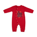 Newborn Letter Print Cotton Cozy Jumpsuit - Booth79