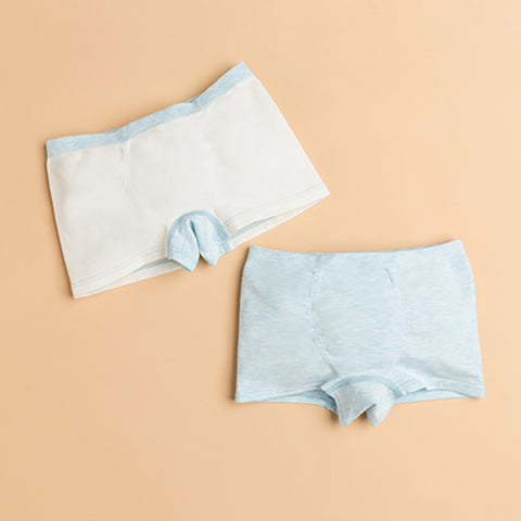 2 Packs Boy Cotton Breathable Boxer Underwear - Booth79
