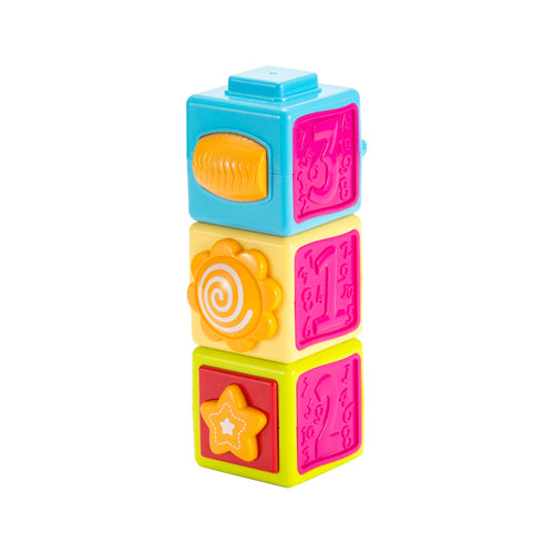 Newborn Baby Build Blocks Toy - Booth79