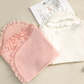 Infant Supersoft Hooded Fleece Lace Quilt - Booth79