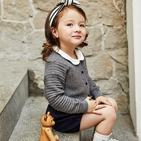 Little Princess Cashmere Cardigan - Booth79