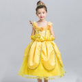 Girls Disney Beauty and the Beast Belle Costume Dress - Booth79