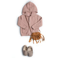 Kids Cozy hooded knit sweater - Booth79