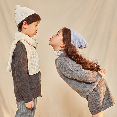 Cotton Wool Knit Hat - Booth79