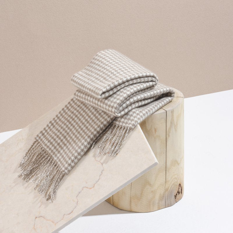 100% Cashmere Natural Colors Scarf