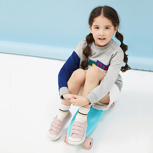 Unisex Kid Striped Sport Socks 2-Pack - Booth79