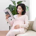 Maternity Breastfeeding Pajamas Set - Booth79