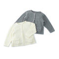 Three Button Open Small Girls Sweater - Booth79