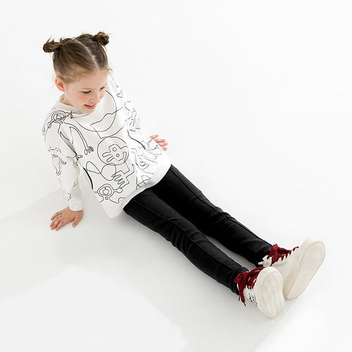 Kids Warmth Thickening Plus Velvet Pants - Booth79