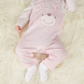 Baby Girls Cotton Cozy Jumpsuit 2-Pack - Booth79