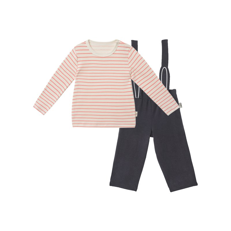 Toddler Boys And Girls Bib Pants Suit - Booth79