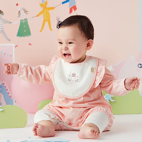 6 Piece Newborn Baby Girl Layette Set with Gift Box - Booth79