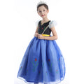 Girls Disney Frozen Princess Anna Costume Dress - Booth79