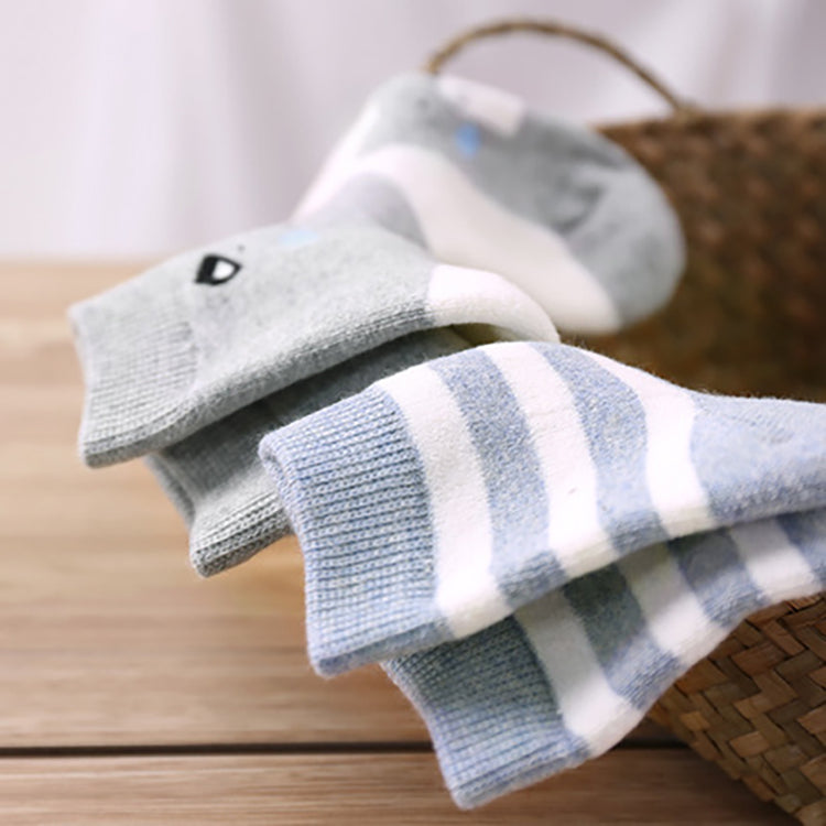 f76d7cb639080 Toddler Non-Skid Cotton Socks for Baby Boys and Girls - Booth79
