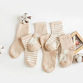 Baby And Toddler Cute Socks 3-Pack - Booth79