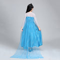 Girls Disney Frozen Elsa Costume Party Dress - Booth79