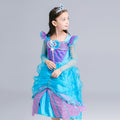 Girls Disney The Little Mermaid Costume Dress - Booth79