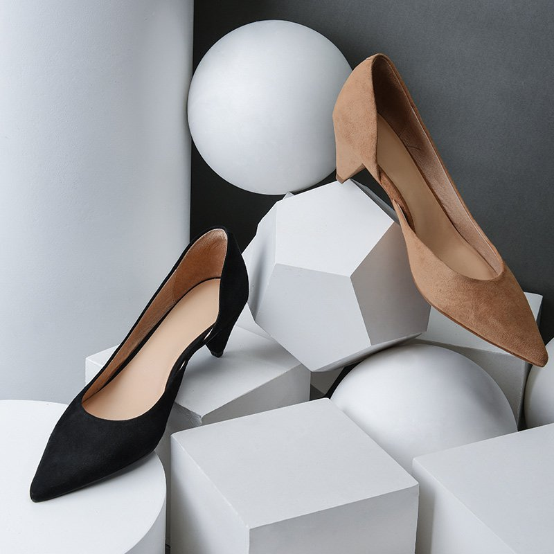 Women's Cone and High Heels Shoes