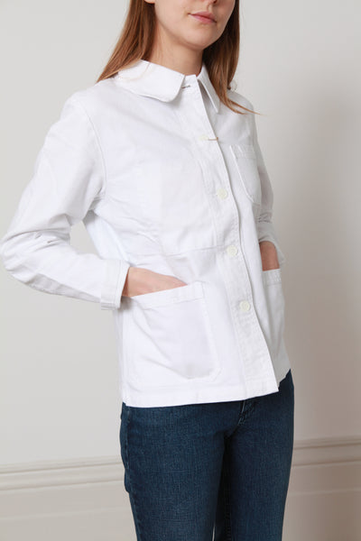 Vetra Workwear Jacket -White