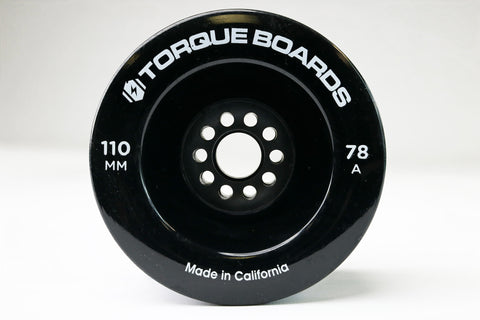 110MM Arctic Blue TorqueBoards Wheels